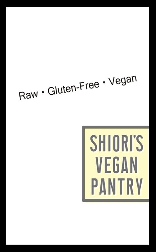Shiori's Vegan Pantryリト史織 名刺 裏
